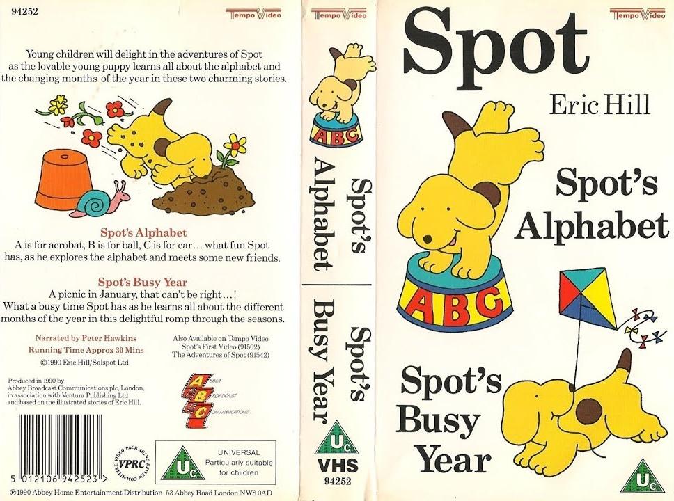 Spot's Alphabet/Spot's Busy Year