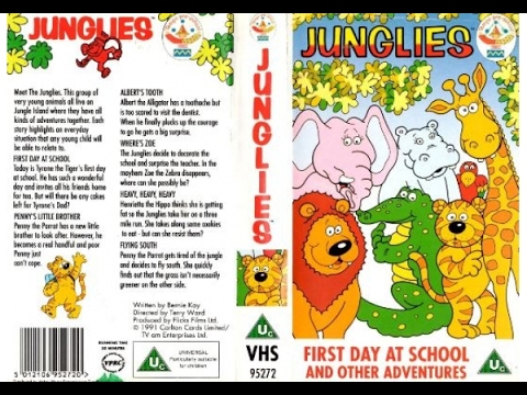 The Junglies - First Day at School