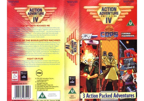 The Action Adventure Collection 4