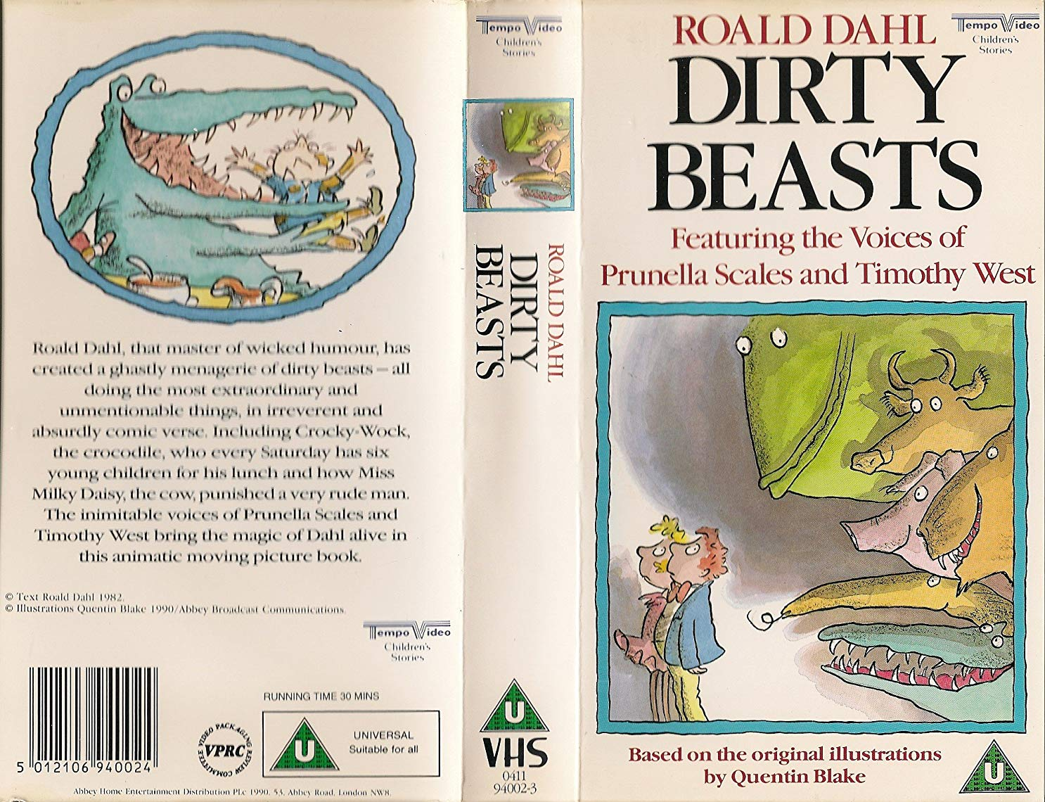 Roald Dahl's Dirty Beasts
