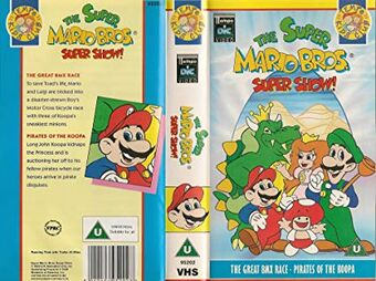 The Super Mario Bros Super Show The Great Bmx Race Pirates Of