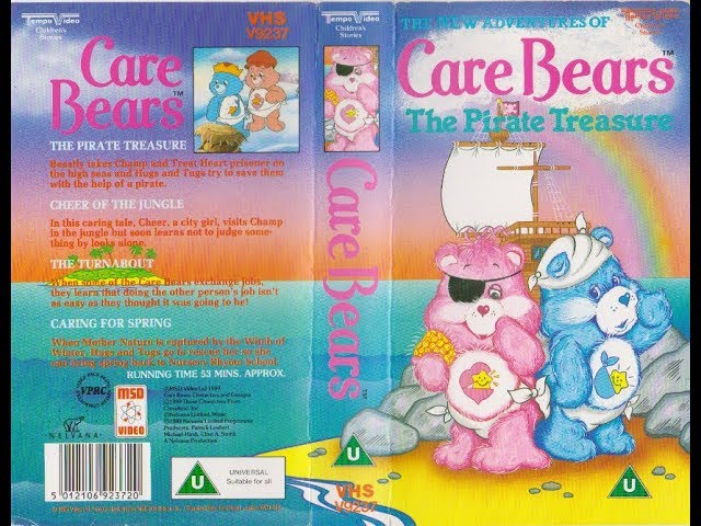 Care Bears - The Pirate Treasure