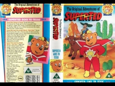 The Original Adventures of SuperTed - SuperTed Goes to Texas