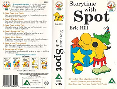 Storytime with Spot