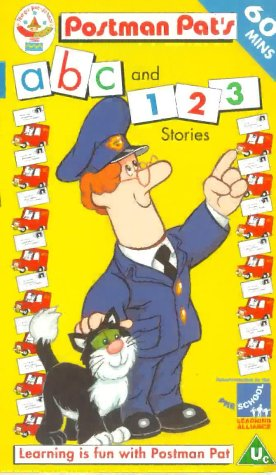 Postman Pat's ABC and 123 Stories