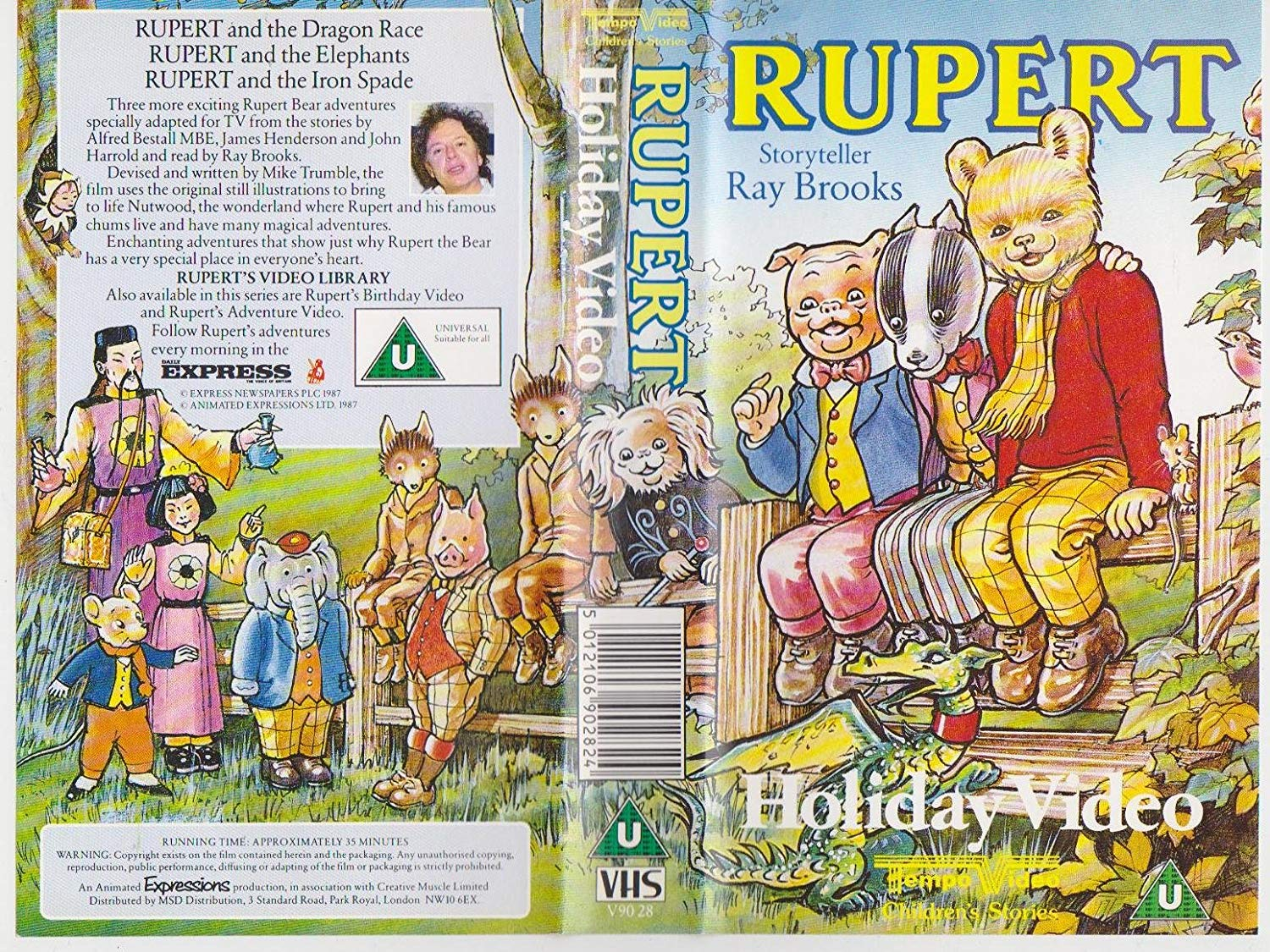 Rupert - Holiday Video