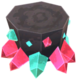 Miner-style crystal stool.png