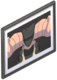 """""""By the Horns"""" framed photograph.png"""
