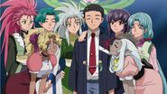 Tenchi marriage announcement