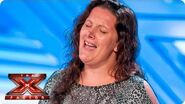 Sam Bailey sings Listen by Beyonce - Room Auditions Week 1 -- The X Factor 2013
