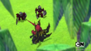 Vilius arguing with his soldiers