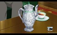 Mr. whites tea pot brickificated