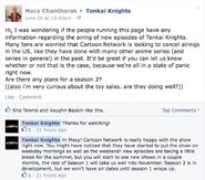 There will be a 2nd season for Tenkai Knights