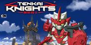 Tenkai Knights & Cartoon Network