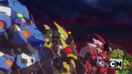 Tenkai Knights Titan Mode