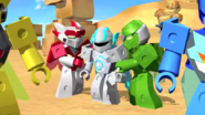 The tenkai knights and boreas