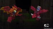 Bravenwolf tenkai firestorm meets orangor