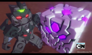 The purple dragon cube and dromus