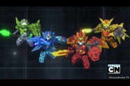 Tenkai Knights (Elemental) activated