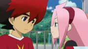 The look beni giving guren again