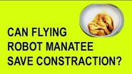 CAN FLYING ROBOT MANATEE SAVE CONSTRACTION?