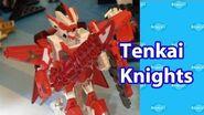 Tenkai Knights Toys Nuremberg Toy Fair Preview