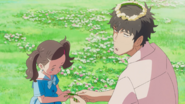 Keisuke and his daughter