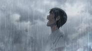 Hodaka enjoys the rain
