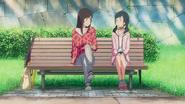 Natsumi talks to Hina