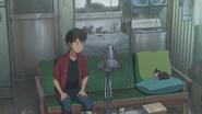 Hodaka tells Ame that he isn't going on a date