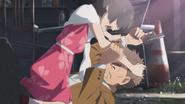 Nagi stops Yasui