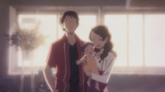 Keisuke with his family
