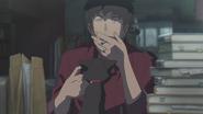 Keisuke looks at Ame