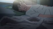 Hodaka realizes that Hina's gone