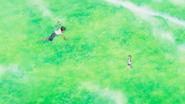 Hina runs to Hodaka