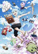 The Slime Diaries Anime Visual