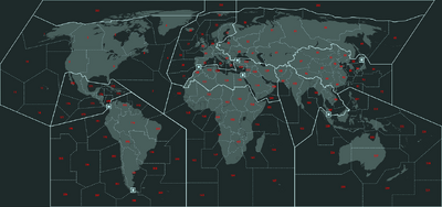 Visual of the Region map used for Terminal Conflict