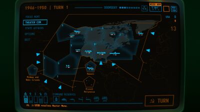 Visual of the USA Home theater within Terminal Conflict