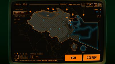 Visual of what an Arms Race looks like on the East Asian Theater for the USSR for Terminal Conflict