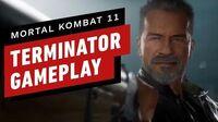 Mortal Kombat 11 - 6 Minutes of Terminator DLC Gameplay