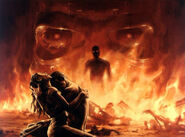The terminator readdy to kill them