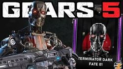 GEARS 5 Multiplayer Gameplay - 9 Minutes of T-800 ENDOSKELETON Character Gameplay!