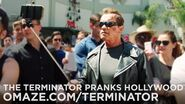 Arnold Pranks Fans as the Terminator..