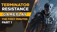 TERMINATOR- RESISTANCE – Gameplay PC – The first minutes