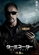 TDF Japanese poster T-800