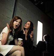 Shirley Manson and Lena Headey