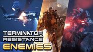 The Enemies in Terminator Resistance