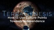 How to Use Culture Points Towards Independence - TerraGenesis Tutorials