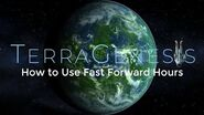 How to Use Fast Forward Hours - TerraGenesis Tutorials