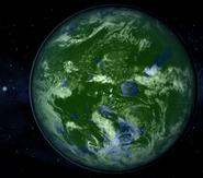 Terraformed Oberon + Uranus